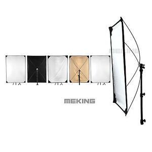 Light Control Panels System w/ fabrics 5-in-1 Light Photo Reflector 28-40inch