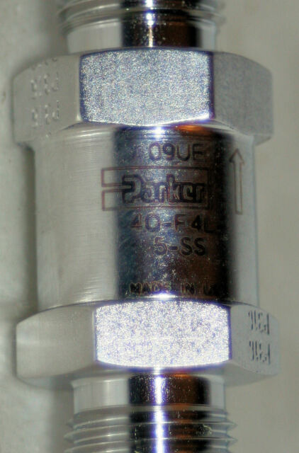 PARKER 4F-F4L-1-SS Stainless Filter 1//4IN NPT 6000PSI