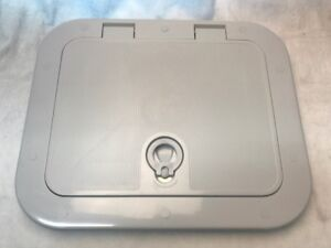 Boat Access Hatch, Sopac S3000 SERIES GREY UV RESISTANT  HATCH - 402mm x 328mm