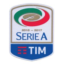 Official Juventus 2016-2017 Serie A Patch Football Badge Soccer Toppa Parche NEW