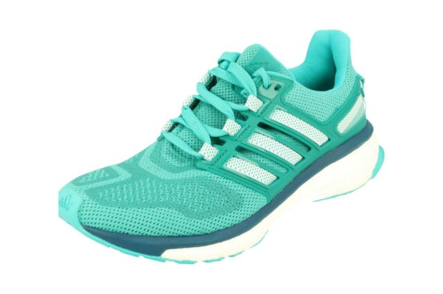 144a7cfcb35 adidas Energy Boost 3 W Turquoise White Womens Running Shoes Af4938 ...