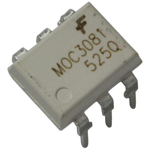 2 moc3081 Fairchild optokoppler 7,5kv 800v 15ma zero-cross-DETECTOR dip-6 855747