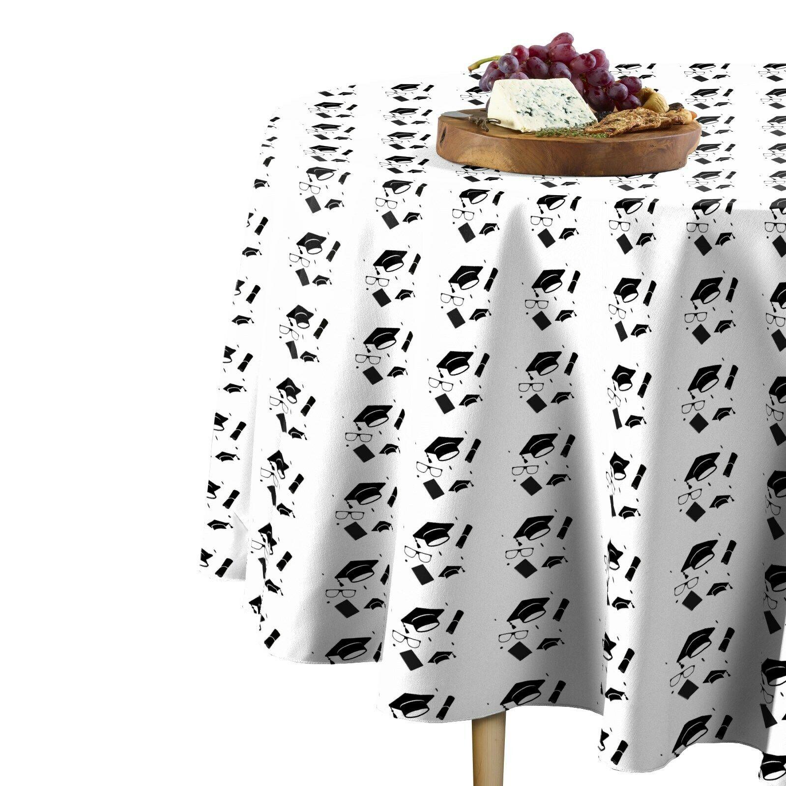 Grad Toss Signature Round Tablecloth Assorted Größes