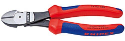 Force coupante 7402200 Knipex 200 mm Poli Avec Étiquettes Poignées
