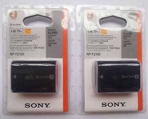 2-x-NP-FZ100-Genuine-Battery-For-Sony-A7-III-A7M3-A7R-III-A7RM3-A9-ILCE-9-A9