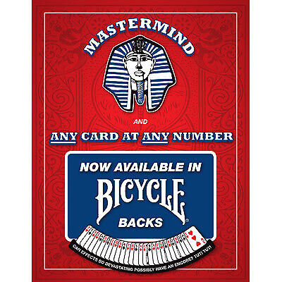Mastermind 3H Red Bicycle deck by Chris Kenworthey  playing cards magic trick