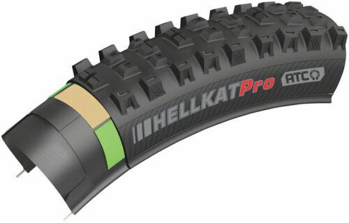 Tubeless Folding Kenda Hellkat Tire Black 29 x 2.6