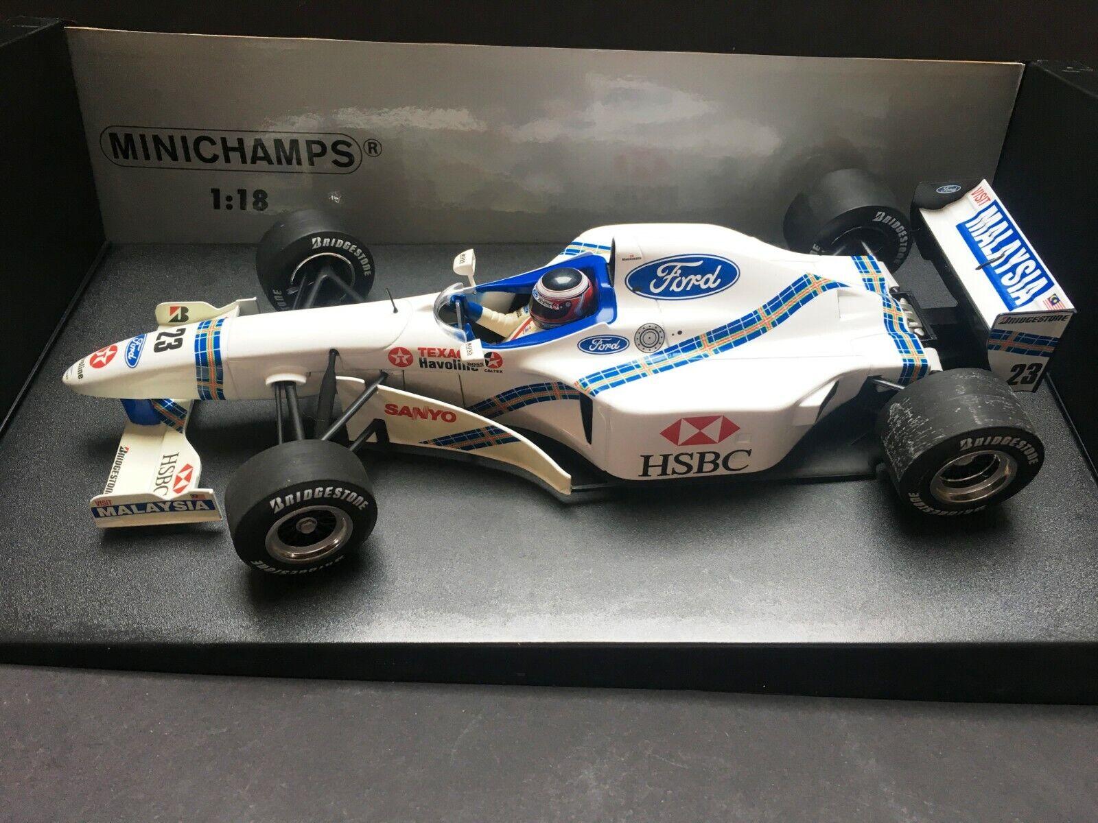 Minichamps - Jan Magnussen - Stewart - SF1 - 1 18 - 1997 - Rare
