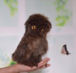 OOAK handmade teddy Owl by Artist Nataliya Kuhtina