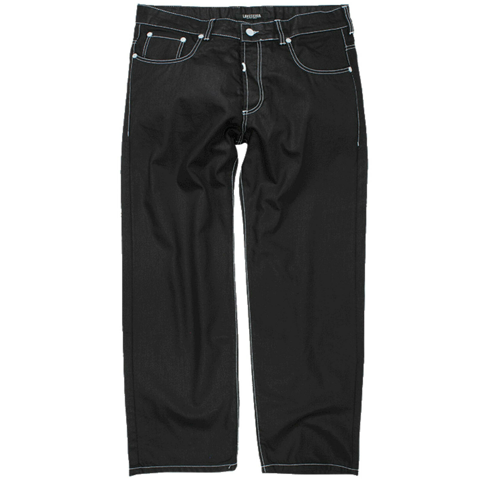 Lavecchia Herren Übergröße Designer Jeans Hose W38 40 42 44 46 48 50 52 (5752)
