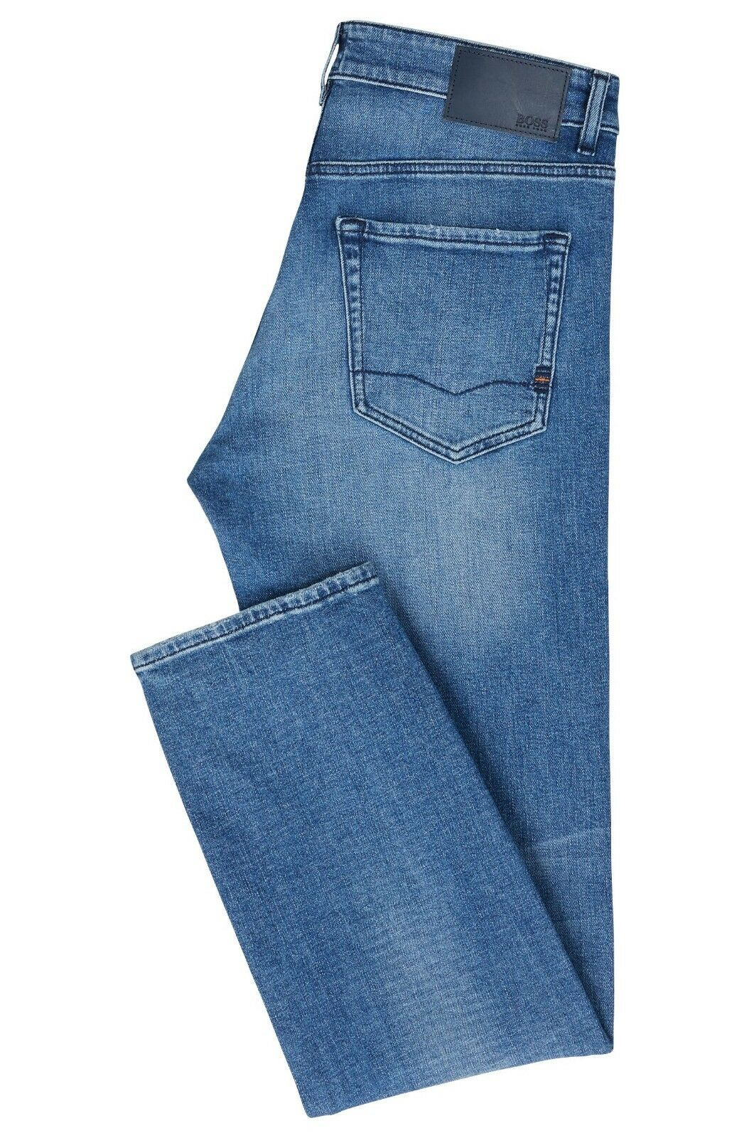 Hugo Boss Maine Bc-C Reguläre Reguläre Reguläre Passform Jeans in Comfort-Stretch Stonewashed 254893