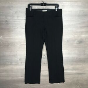 Banana-Republic-Women-039-s-Size-8P-Petite-Sloan-Fit-Pants-Trouser-Black-30-034-Inseam
