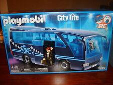 Playmobil Play Set ~ Tour Bus  #5603 ~ 33 Pieces    NEW!!