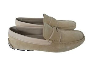 New-Authentic-PRADA-Leather-Mens-Loafers-Moccasins-Shoes-US10-5-EU43-5-UK9-5