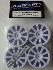 JConcepts 3306 Rulux RC10B4 Rear Wheel 4PC White