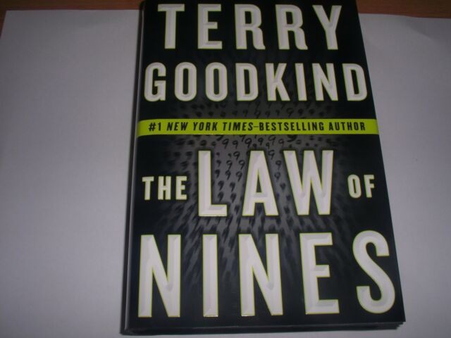 1st US edition ,near fine condition, Terry Goodkind: THE LAW OF NINES.2009 (HB)
