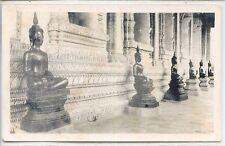 CP - Carte-Photo Laos - Intérieur d'une pagode