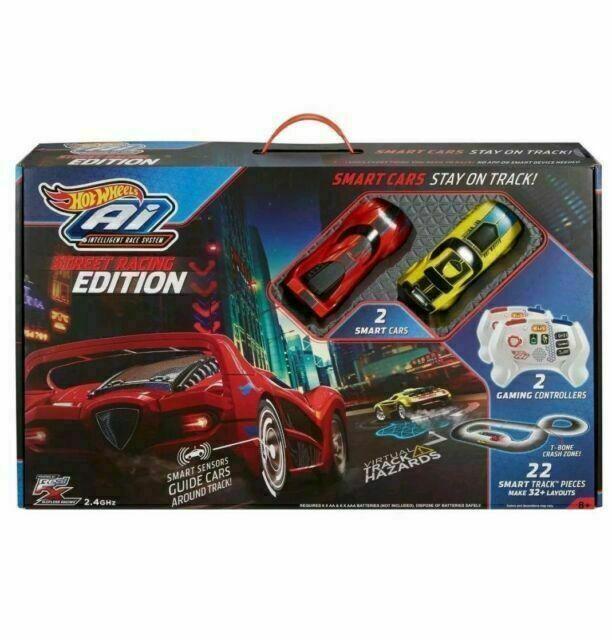 Hot Wheels Ai Intelligent Race System Street Racing Edition Starter Track Set
