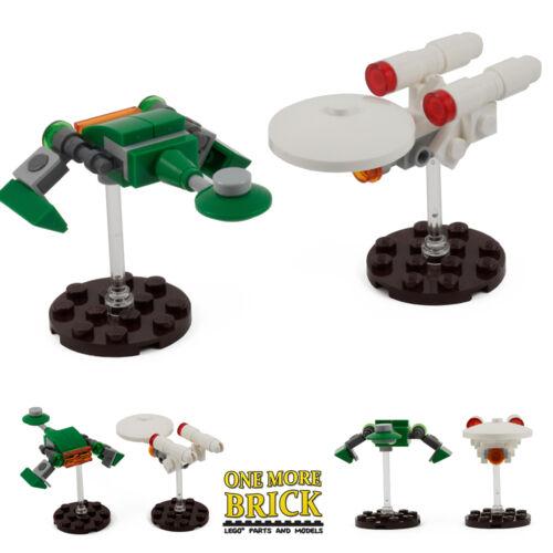 LEGO custom Enterprise//BIRD OF PREY STAR TREK hommage Spaceship Model Kits Neuf