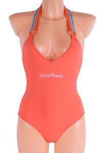 Replay-Schwimmanzug-Badeanzug-Orange-Gr-36-47