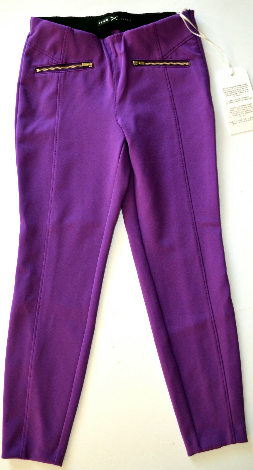 Mac Jeans Dream Ankle Luxury Skinny Stretch Tube lila Größe 34 L 27 NEW