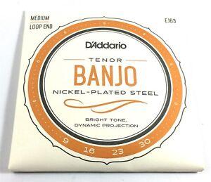 D-039-Addario-Banjo-Strings-Tenor-EJ63-Nickel-Plated-Steel-Light-Loop-End