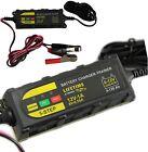 Mantenitore di carica per batteria auto moto 12V 1A Battery Charger Trainer