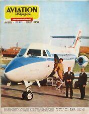 Aviation Magazine n°443 - 1966 - Les Porte-avions - Hawker Siddley DH 125