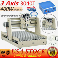 3 Axis Usb 3040 Router Engraver Milling Drilling Machine Wood Pcb 3d Cutter 400w
