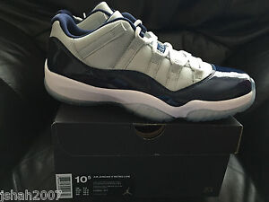 nike air jordan 11 georgetown low all sizes 4-12 limited edition new 6 7 8 9 10