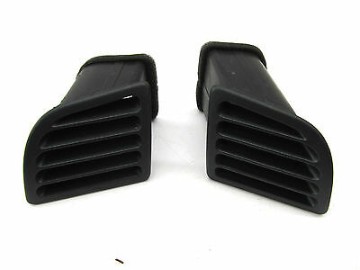 2003-2004 INFINITI G35 COUPE OEM DASHBOARD DASH OUTER AIR VENT SET OF TWO