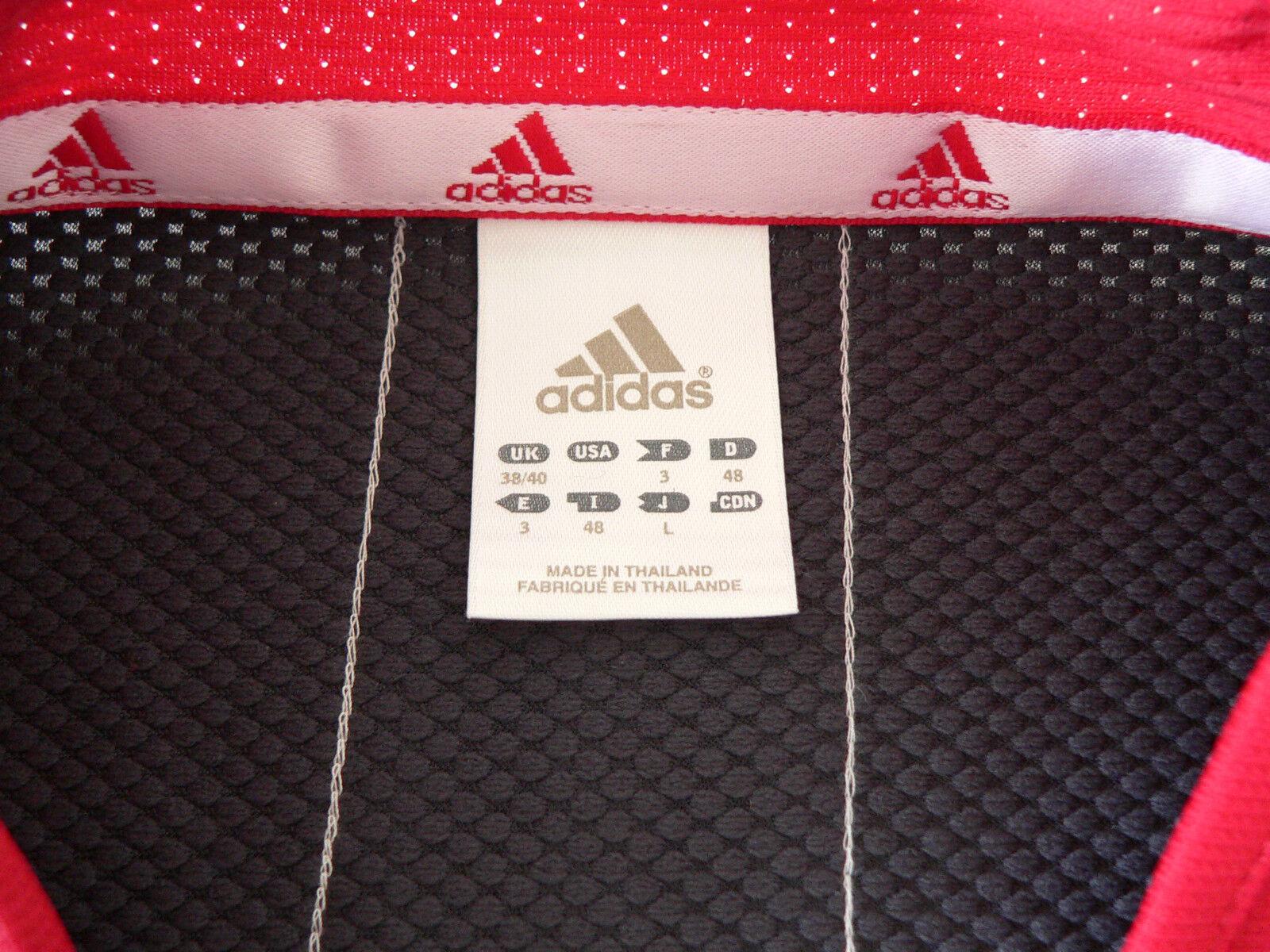 Adidas Tennisshirt Tennis T-Shirt Shirt Polo chemise Größe Größe M M M rot rot rot 8d8c24