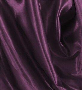 "10 Yards Shiny Bridal Satin Fabric 60/"" Eggplant"