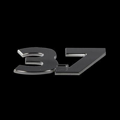 2011-2012-2013 FORD MUSTANG 3.7 BILLET EMBLEM BLACK OUT LOOK