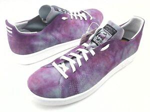 3070a48aff5d4 ADIDAS Pharrell Williams Stan Smith Purple Tennis Holi Shoes DA9612 ...