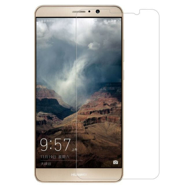 100% Genuine Tempered Glass LCD Screen Protector for Huawei Mate 9 Mobile Phone