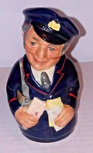 Real-Doulton-Doultonville-Pat-Paquete-The-Postman-Toby-Jarro-Escasa-D6813-1988