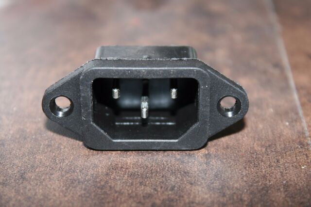 AC power connector (jack) for Olympus BH-2 (BHT/BHTU) microscope stands.
