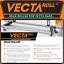 Vecta Van Roof Rack Bars Ford Transit 2000-2014 Rear Loading Ladder Roller Fits