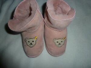 best service 5e184 65dcd Details zu (。◕‿◕。) Steiff Baby Fell Boots Schuhe rosa Neu 20 (。◕‿◕。)