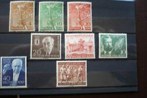 berlin postfrisch aus 1952-54 , kleine auswahl - Rathenow, Deutschland - berlin postfrisch aus 1952-54 , kleine auswahl - Rathenow, Deutschland