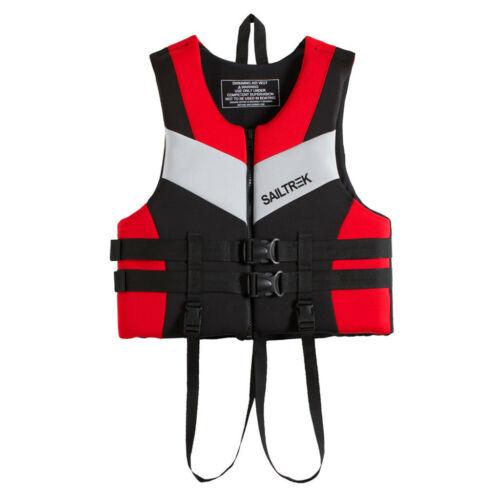 2019 Adult Kids Life Jacket Drifting Swimming Boating Fishing Surf Life Vest