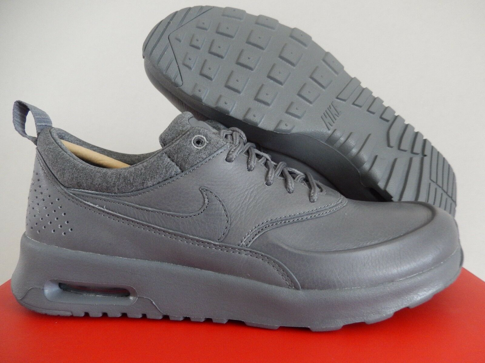 femmes  NIKE AIR MAX THEA PINNACLE COOL gris-gris-MATTE SZ 8 [839611-003]