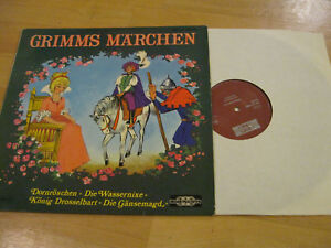 Lp Grimms Marchen Dornroschen Die Wassernixe Vinyl Main Records Mr