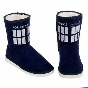 baa9c637a21 Doctor Who UGG BOOTS Women's Size US 10 Clothing Accessories Warming SLIPPER