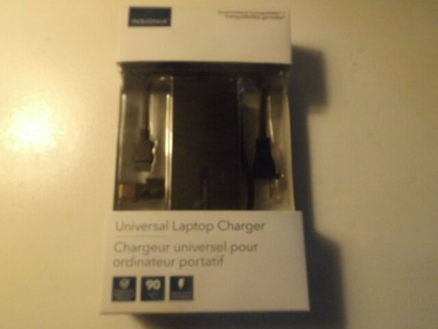 NEW Insignia Universal 90W Laptop Charger (NS-PWLC591-C)