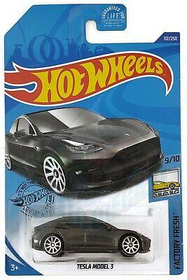 Hotwheels Tesla Model 3 ca 1//60 GHC05-D521