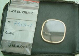 Bulova-Accutron-7323-1-Spaceview-Crystal-Glass-GENUINE-guaranteed-New-parts