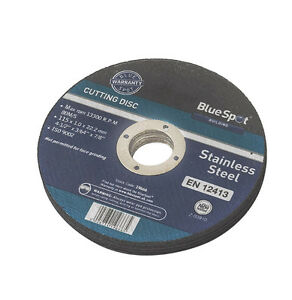3-X-4-1-2-034-THIN-STAINLESS-STEEL-CUTTING-DISCS-METAL-CUTIING-DISC