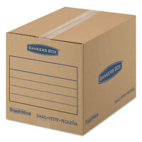 Bankers Box Smoothmove Basic Small Moving Boxes 16l X 12w X 12h Kraft/blue 25/bd on sale